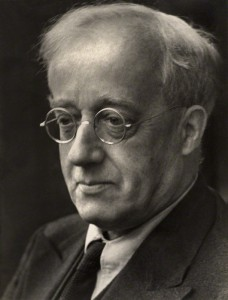 NPG x18542; Gustav Holst by Martha Stern
