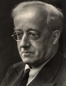 NPG x18542; Gustav Holst by Martha Stern