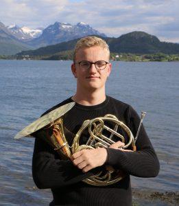 Hans Tomren - horn - Franz Strauss : «Nocturno» for horn og strykeorkester