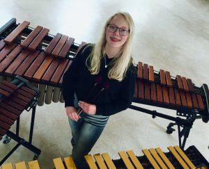 Ingrid Else Sandøy - slagverk - Harm Evers : «Happy Mallets»